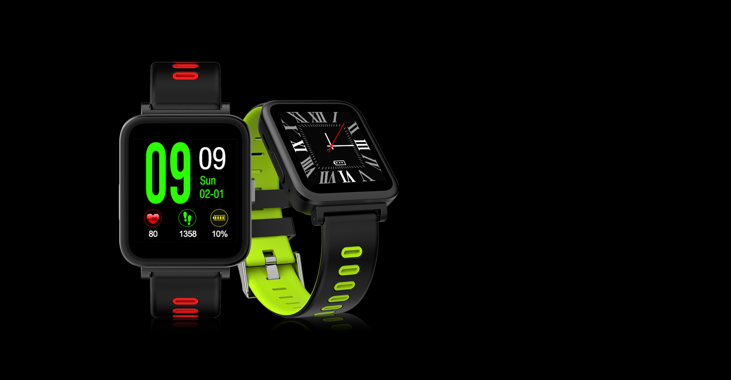 Colorful sport smart watch
